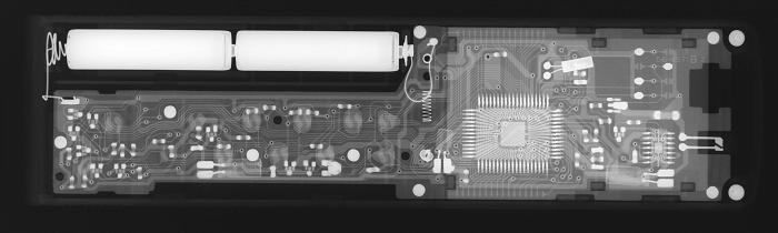 リモコンの放射線透過試験