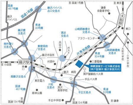 本社イラスト地図